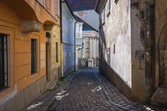 布拉索夫老城镇 图库摄影