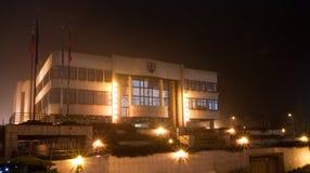 布拉索夫议会 库存照片