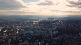 布拉索夫都市风景  影视素材