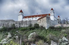 布拉索夫高城堡  免版税库存图片