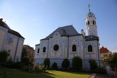 布拉索夫,斯洛伐克- 2016年8月18日:圣伊丽莎白教会  免版税库存图片