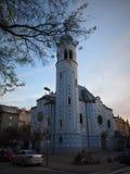 布拉索夫-蓝色教会-斯洛伐克 图库摄影