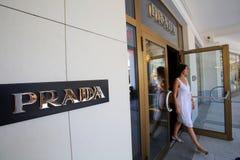 布拉达豪华物品商店 免版税库存照片