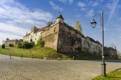 布拉索夫中世纪城堡 免版税库存照片