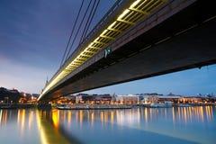 布拉索夫和河多瑙河 免版税库存照片