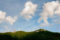 布拉索夫坦帕小山 图库摄影