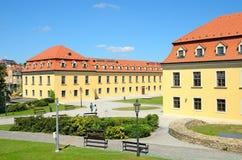 布拉索夫城堡庭院  免版税库存照片