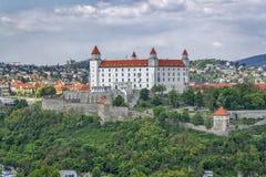 布拉索夫城堡,斯洛伐克 库存照片