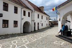 布拉索夫城堡,罗马尼亚 免版税库存照片