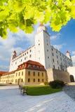 布拉索夫城堡围场 免版税库存照片