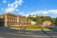 布拉索夫市,罗马尼亚 库存照片