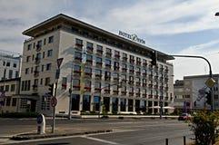 布拉索夫旅馆DevÃn 免版税库存照片
