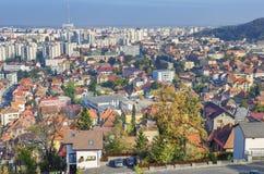 布拉索夫罗马尼亚 库存照片