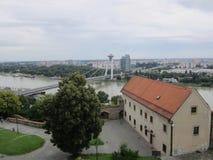 布拉索夫,斯洛伐克美丽的景色  免版税库存照片