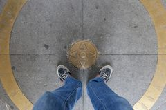 布拉索夫,斯洛伐克- 2013年5月07日:古铜色尖 免版税库存照片