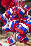 布拉索夫,斯洛伐克- 2013年5月07日:礼物和 免版税库存图片