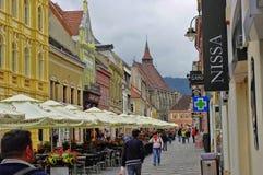 布拉索夫,罗马尼亚- 2014年6月18日 免版税库存照片