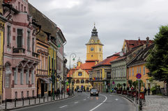 布拉索夫,罗马尼亚- 2014年6月18日 免版税库存图片