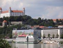 布拉索夫-城堡2016年斯洛伐克 库存图片