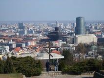 布拉索夫-斯洛伐克的首都2016年斯洛伐克 免版税库存图片