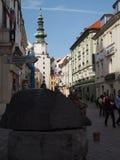 布拉索夫-斯洛伐克的首都2016年斯洛伐克 免版税库存照片