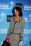 黛布拉Matin追逐到达2011个NAACP图象奖被提名人招待会 图库摄影