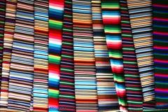 布料五颜六色的藏语 库存图片