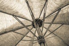 布料伞 免版税库存照片