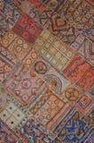 布料刺绣墙壁 免版税图库摄影