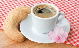 布料咖啡杯 免版税库存图片