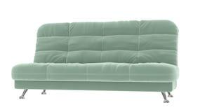 布料沙发 免版税库存图片