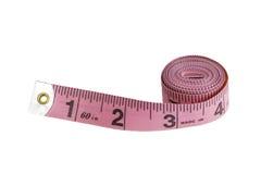 布料测量的磁带 库存照片
