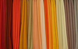 从布料的颜色 库存图片