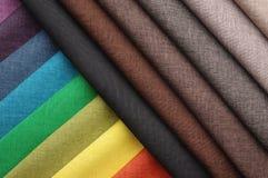 布料织品堆 免版税库存照片