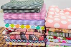 布料织品 免版税库存照片