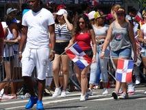 2016年布朗克斯多米尼加共和国的天游行33 免版税库存照片