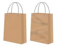 布朗卡拉服特购物纸袋 免版税库存照片