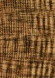 布朗和米黄编织的羊毛纹理 图库摄影