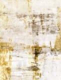 布朗和米黄抽象派绘画 免版税库存照片