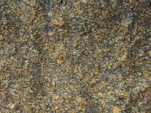 布朗和黄色岩石背景 库存照片