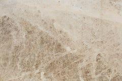 布朗大理石作为背景的纹理摘要 自然石头 图库摄影