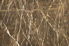 布朗大理石墙壁纹理 库存照片