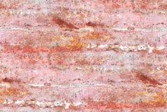 布朗大理石或石灰华纹理-无缝的瓦片 库存图片