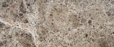 布朗大理石石头 免版税库存照片
