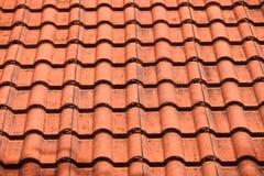 布朗屋顶 免版税图库摄影