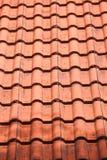 布朗屋顶 免版税库存图片