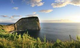 布朗库堡- Faial -亚速尔群岛 库存图片