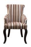 布朗扶手椅子 免版税库存图片