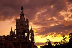 布朗斯维克日内瓦纪念碑 免版税库存照片