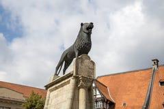 布朗斯维克狮子纪念碑 库存照片